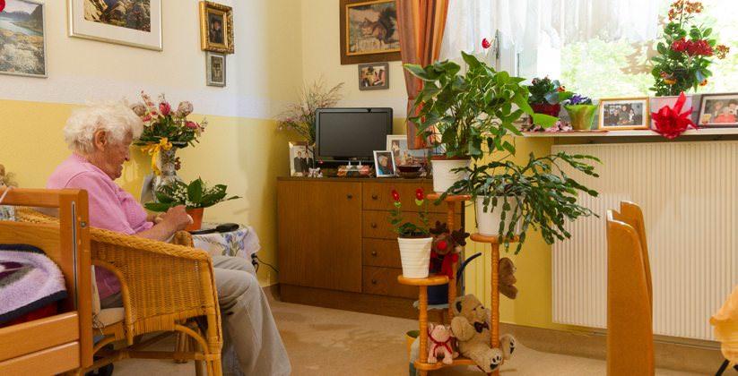 Einzelzimmer im Senioren Centrum Schäferberg