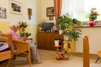 Bewohnerzimmer im Senioren Centrum Schäferberg