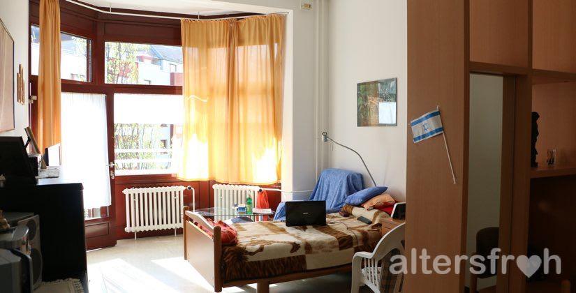 Bewohnerzimmer im Barbara von Renthe-Fink Haus in Berlin Charlottenburg-Wilmersdorf