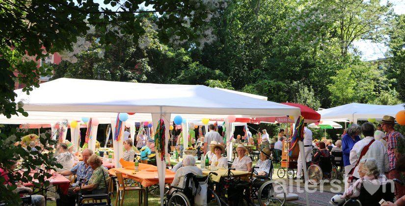 Sommerfest im Barbara von Renthe-Fink Haus in Berlin Charlottenburg-Wilmersdorf