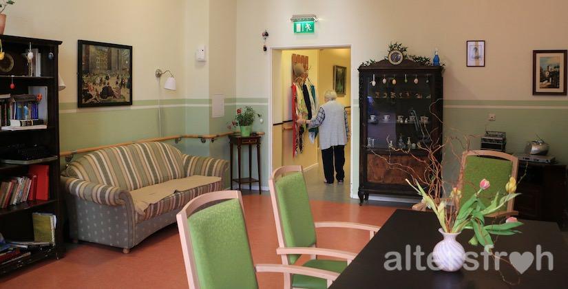 Gemeinschaftsbereich im Agaplesion Bethanien Haus Bethesda in Berlin Kreuzberg