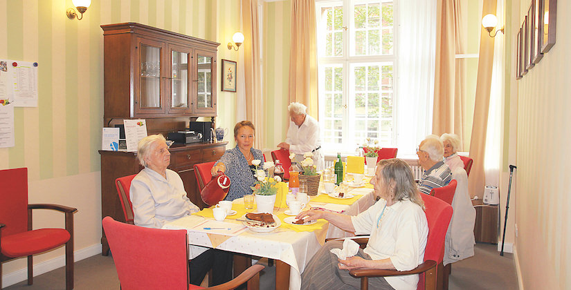 Wohngemeinschaft im Agaplesion Bethanien Haus Bethesda in Berlin Kreuzberg
