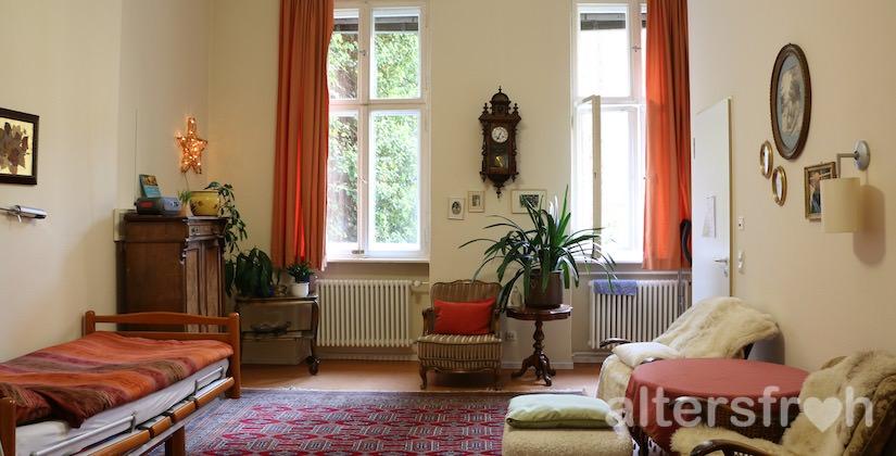 Bewohnerzimmer im Agaplesion Bethanien Haus Bethesda in Berlin Kreuzberg