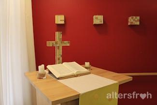 Christliche Werte im Diakonischen Pflegewohnheim Schillerpark in Berlin Wedding
