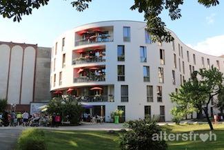 Blick auf das Pflegewohnheim Schillerpark in Berlin Wedding