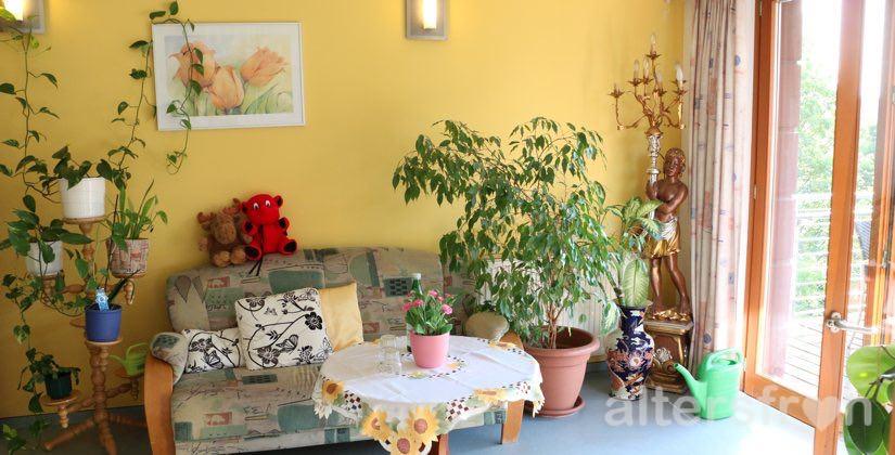 Gemeinschaftsraum im Haus 32 der Seniorenstiftung Prenzlauer Berg in Berlin