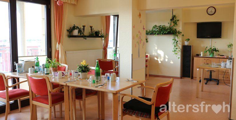 Tagesraum im Haus 32a der Seniorenstiftung Prenzlauer Berg in Berlin