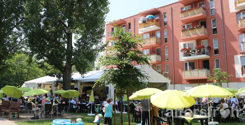 Sommerfest 2015 im Haus 33 der Seniorenstiftung Prenzlauer Berg in Berlin
