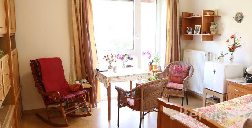 Bewohnerzimmer im Haus 33 der Seniorenstiftung Prenzlauer Berg in Berlin