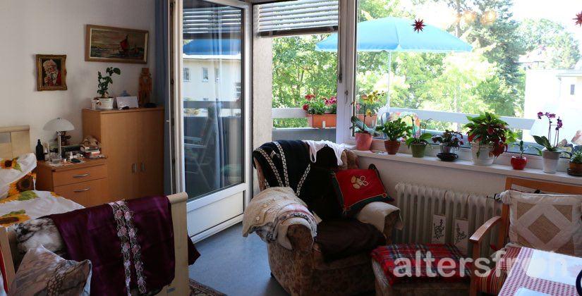 Bewohnerzimmer im Brunnenhof Haus Steglitz in Berlin
