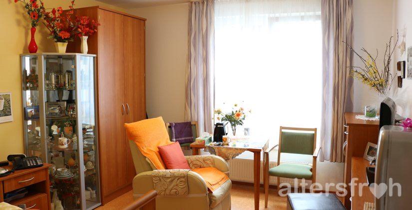 Einzelzimmer im DSG Pflegewohnstift Babelsberg in Potsdam