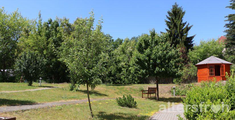 Garten im DSG Pflegewohnstift Babelsberg in Potsdam