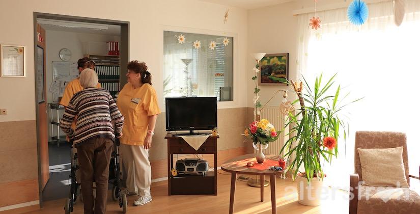 Dienstzimmer im DSG Pflegewohnstift City-Quartier in Potsdam