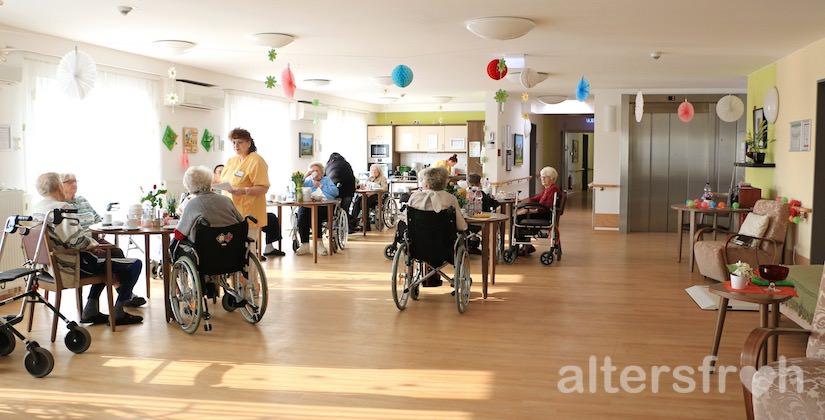 Tagesraum im DSG Pflegewohnstift City-Quartier in Potsdam