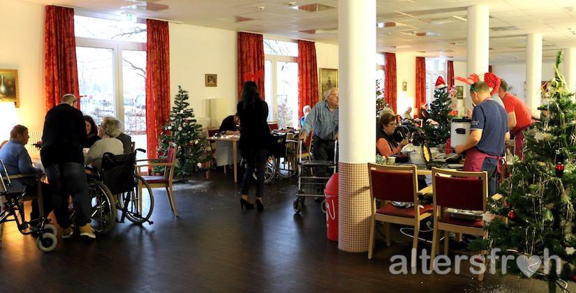 Weihnachtsmarkt im DSG Pflegewohnstift City-Quartier in Potsdam