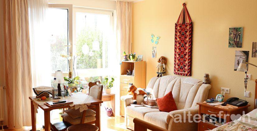Einzelzimmer im DSG Pflegewohnstift Hönow bei Berlin