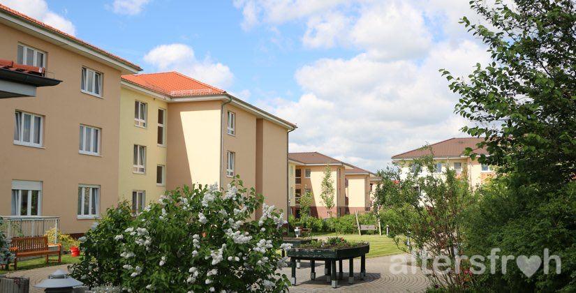 Garten im DSG Pflegewohnstift Hönow bei Berlin