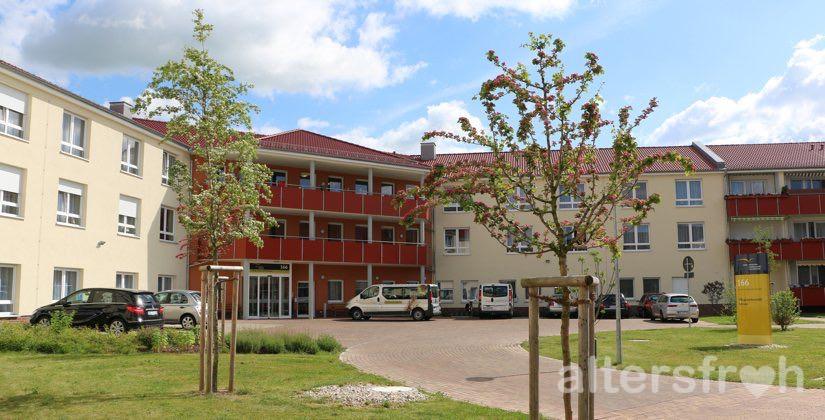 Blick auf das DSG Pflegewohnstift Hönow bei Berlin