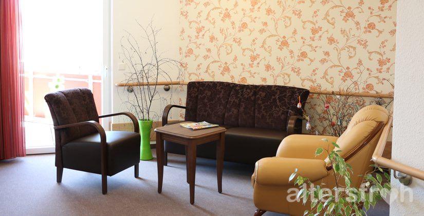 Sitzecke im DSG Pflegewohnstift Hönow bei Berlin