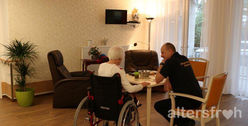 Einzelbetreuung im DSG Pflegewohnstift Waldstadt, Potsdam