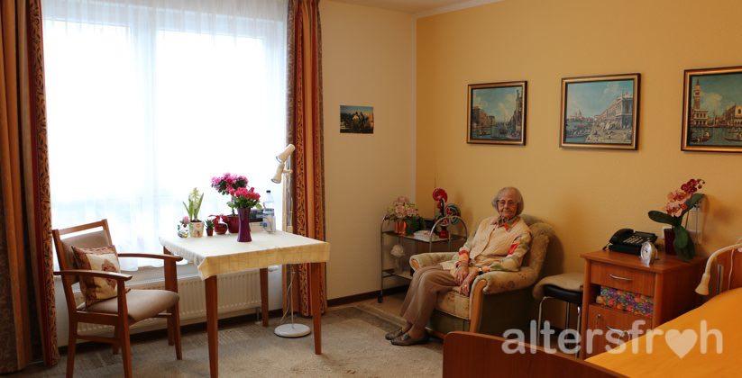 Bewohnerzimmer im DSG Pflegewohnstift Waldstadt, Potsdam