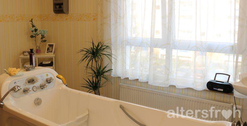 Pflegebad im DSG Pflegewohnstift Waldstadt, Potsdam