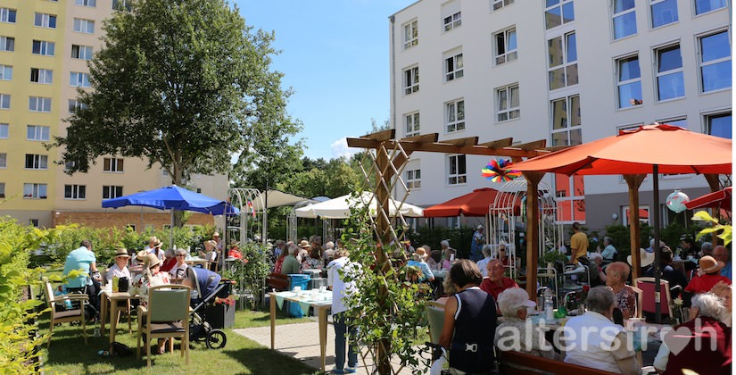 Sommerfest 2016 im Garten des DSG Pflegewohnstifts Waldstadt, Potsdam