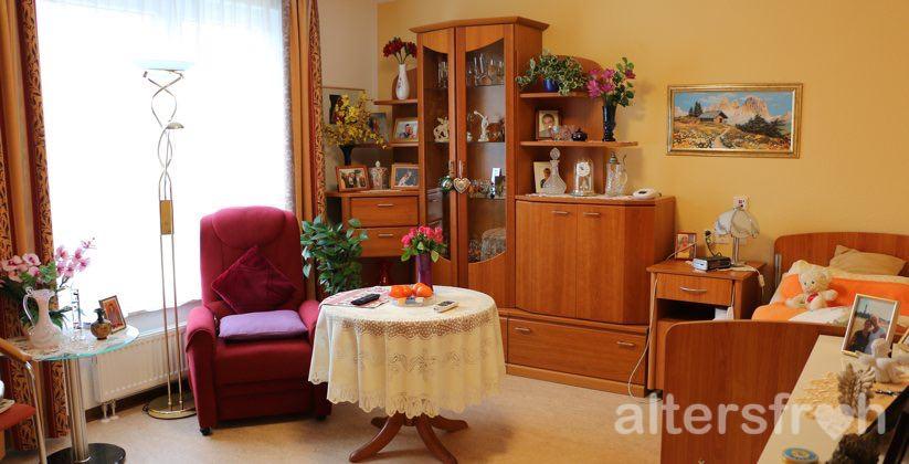 Einzelzimmer im DSG Pflegewohnstift Waldstadt in Potsdam