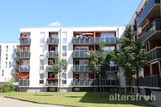 Das Gebäude des Service-Wohnens City-Quartier in Potsdam