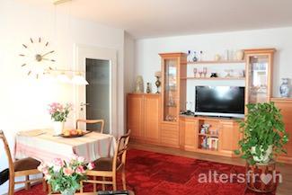 Wohnzimmer im Service Wohnen City-Quartier in Potsdam