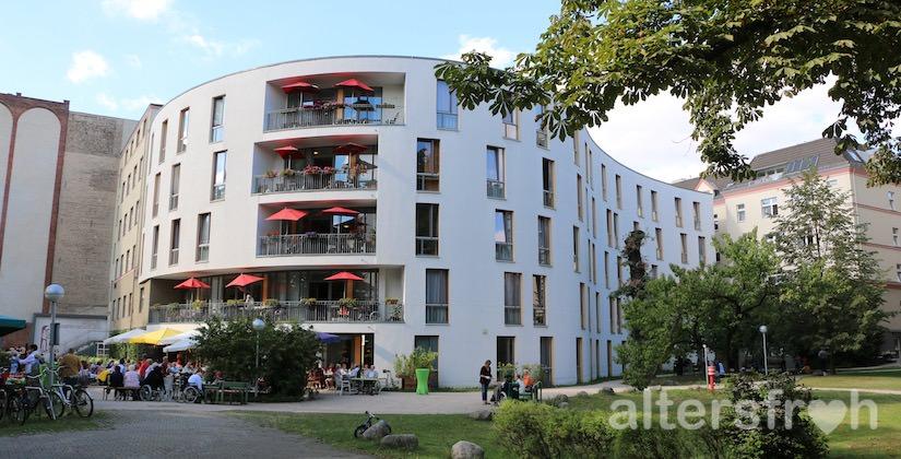 Das Diakonische Pflegewohnheim Schillerpark in Berlin Wedding