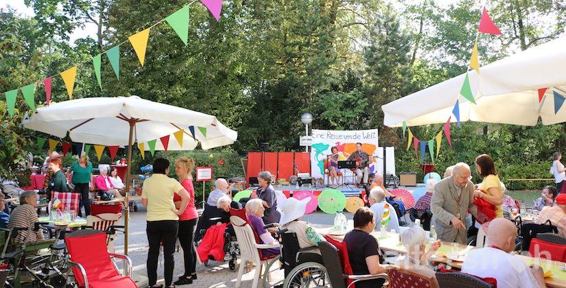 Sommerfest im Diakonischen Pflegewohnheim Schillerpark in Berlin Wedding