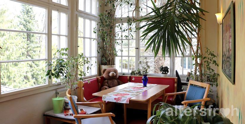 Wintergarten im Haus Teplitz in Berlin