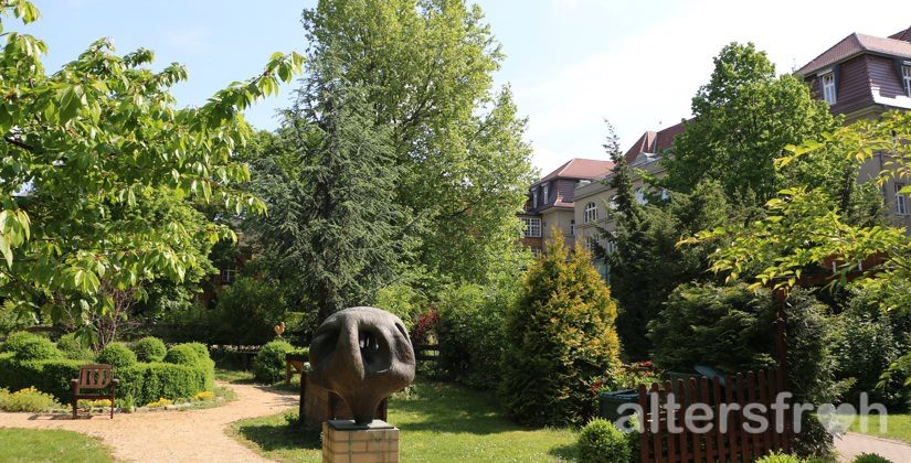 Der Garten des Lazarus Hauses Berlin