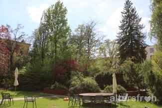 Garten im Barbara von Renthe-Fink Haus in Berlin