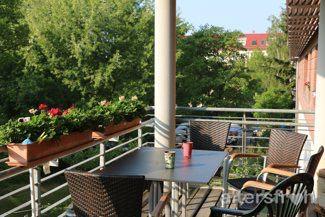 Balkon der Seniorenstiftung Prenzlauer Berg Haus 32 in Berlin