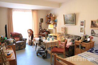 Bewohnerzimmer in der Seniorenstiftung Prenzlauer Berg Haus 32 in Berlin