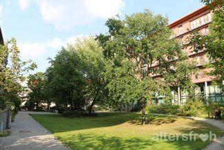Garten in der Seniorenstiftung Prenzlauer Berg Haus 32 in Berlin