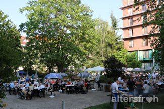 Parkfest in der Seniorenstiftung Prenzlauer Berg Haus 32 in Berlin