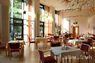 Saal in der Seniorenstiftung Prenzlauer Berg Haus 32 in Berlin