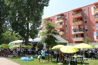 Sommerfest in der Seniorenstiftung Prenzlauer Berg Haus 32 in Berlin