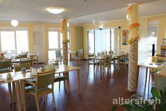 Cafeteria im Pflegewohnstift Hönow bei Berlin