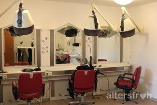 Friseursalon im Pflegewohnstift Hönow bei Berlin