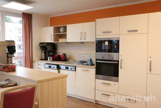 Wohnküche im DSG Pflegewohnstift Waldstadt in Potsdam