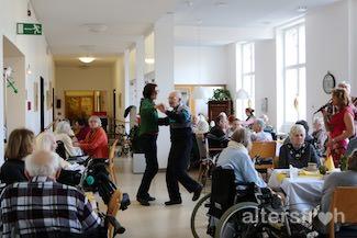 Maifest im Pflegewohnheim des EGZB