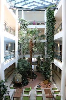Atrium in der Seniorenresidenz Haus Pankow