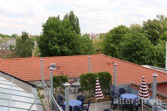 Dachterrasse in der Seniorenresidenz Haus Pankow in Berlin