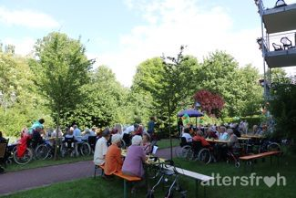 Sommerfest in der Seniorenresidenz Haus Pankow in Berlin