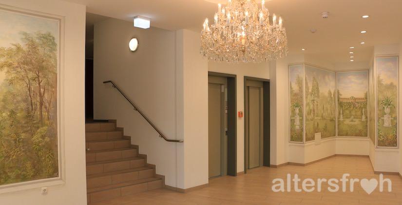 Eingangsbereich im DSG Service-Wohnen Am Schlosspark in Potsdam Eiche