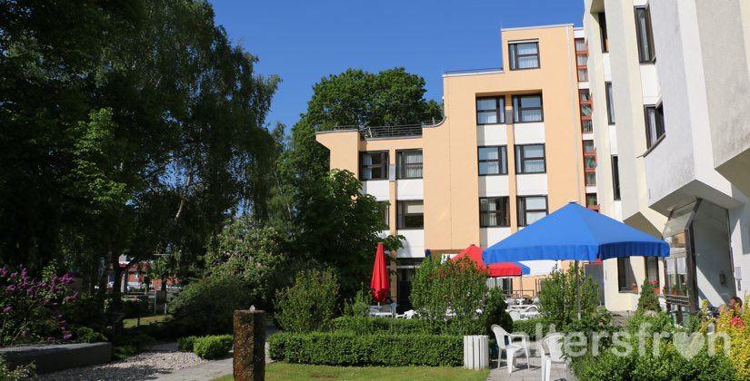 Blick auf das Vitanas Senioren Centrum Schäferberg